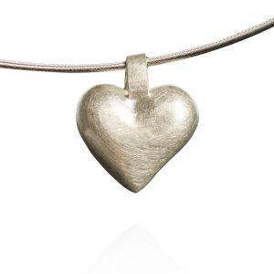 Das kleine KRA | Herz Anhänger Silber