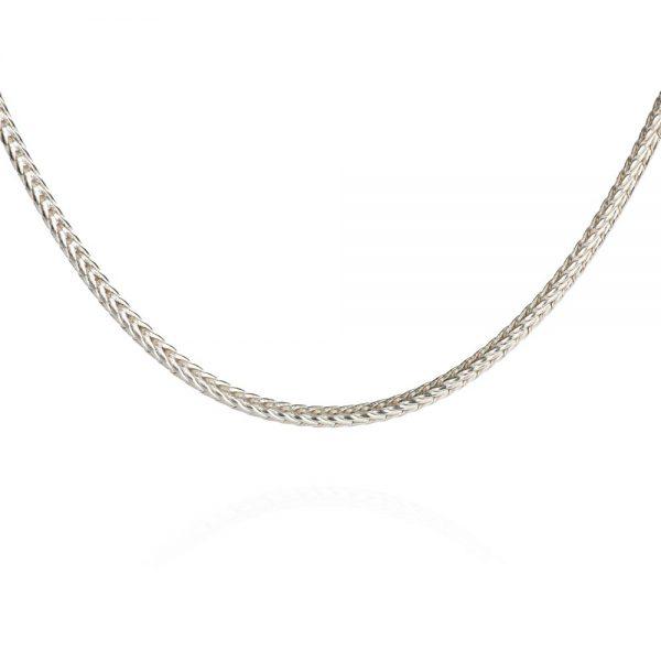 Das kleine KRA | Fuchssschwanzkette 1,3 mm Silber