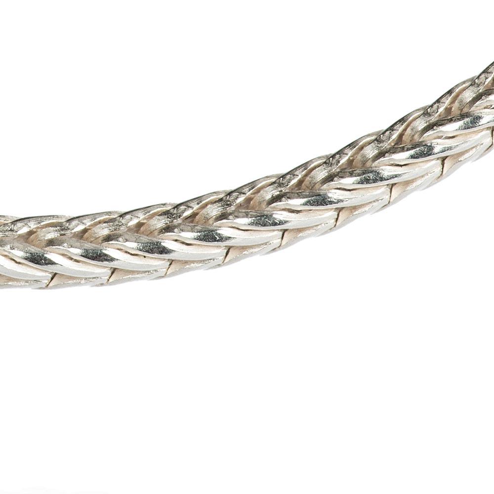 Das kleine KRA | Fuchssschwanzkette 1,3 mm Silber Detail