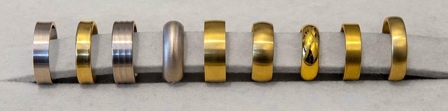 Das kleine KRA | Trauringe verschiedene Ringformen
