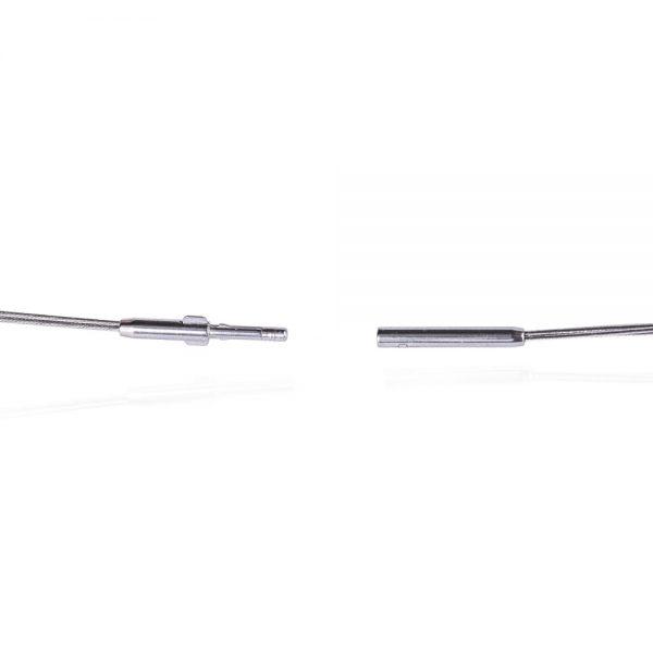 Das kleine KRA | Edelstahlcollier 3-reihig - Verschluss offen
