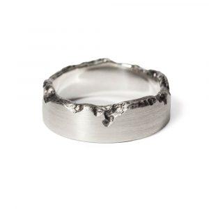 Das kleine KRA | Brodtener Steilufer Ring Silber