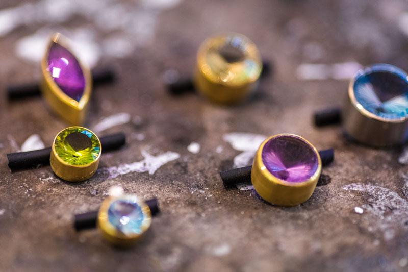 Das kleine KRA | Farbige Edelsteine