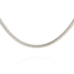 Das kleine KRA | Fuchssschwanzkette 1,6 mm Silber