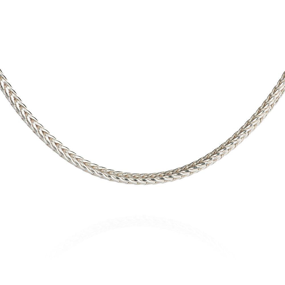 Das kleine KRA   Fuchssschwanzkette 1,6 mm Silber