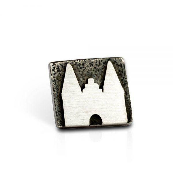 Das kleine KRA | Lübeck Holstentor Stickpin Silber